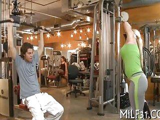 Milf gives wonderful blowjob
