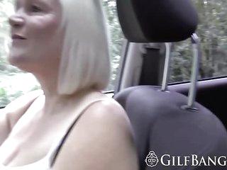 Guy smashing his girlfriend and her mom