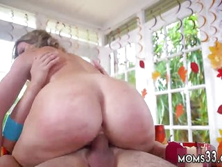 Fit mom and mature milf younger guy first time Gobble On