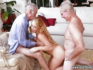 Old hairy fat man and young girl Frannkie And The Gang Tag Team Mature Fuck Session