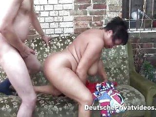 Oriental BBW gets fucked having her rolls slammed outdoors
