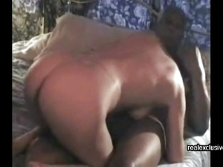 My cuckold wife 54 enjoys fat black dick