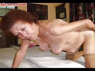 LATINA GRANNY Compilation of three grannies