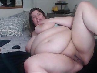 BBW Fat Milf Camgirl (compilation)