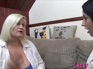 Brit gran and chubby lesbian sixtynine
