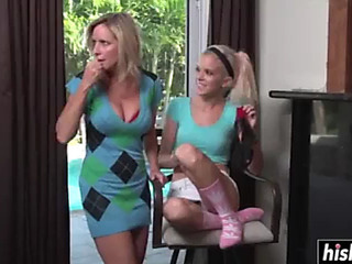 Lesbo lusty mother i'd like to fuck