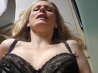 Hot aged mother i'd like to fuck with large saggy bra buddies receives filled up with cum