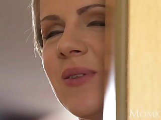 MOM Housewife face slapping and dominating her sub husband for a rough fuck