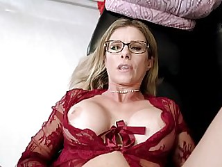 Horny Step Mom begs for Anal early in the Morning - Cory Chase