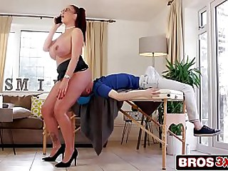 Bitchy UK Step Mom Cheats With Her Step Son