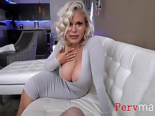 Busty Blonde Mom Wants Nothing But Cock