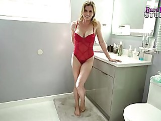 Step Son Fucks Step Mom in the Ass and she swallows his Cum - Cory Chase