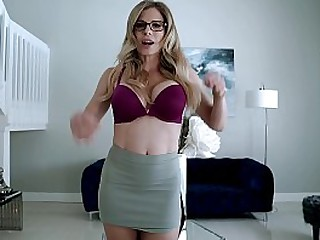 Fucking My Step Mom in the Living Room - Cory Chase