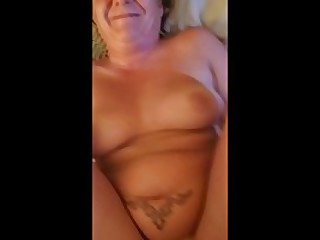 waking mom to fuck and blow my cock