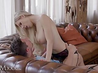 MOM.XXX Corona virus fuck with self isolating blonde MILF
