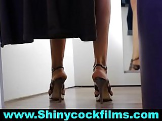 Mom & stepSon Share a Changing Room - #Five - Shiny Cock Films