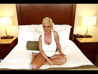 Sexy older mature babe is giving a great blowjob in POV style, she loves to use her big boobs as well for assistance...