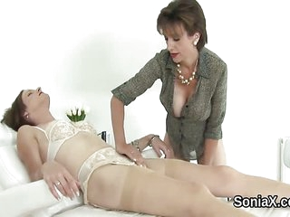 Unfaithful english mature lady sonia showcases h