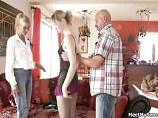 porn movies Perverted parents seduces their son's GF