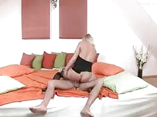 German babe gets hammered hard