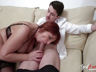 AgedLovE British Mature Enjoys Hardcore Sex