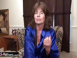 USA Wife Two toys in horny usa pussy