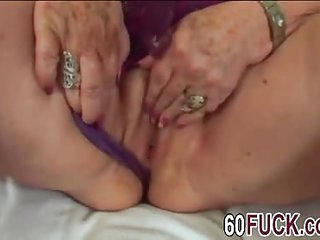 Bbw granny Dominika blowjob fucking long schlong